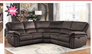 New Chocolate Recliner Sectional for Sale in Austin, TX