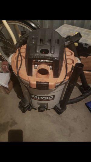 Ridgid 16 Gallon 5.0 HP for Sale in Corona, CA