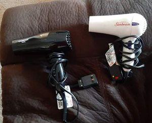 2 hair dryers for Sale in Bethel, DE