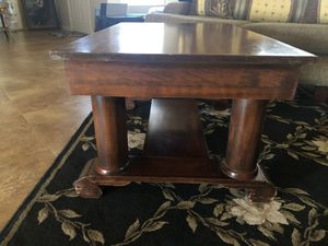 Antique solid wood coffee table for Sale in Fountain Hills, AZ
