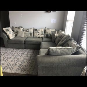 Beautiful Sage Sectional + Free Delivery 🚚 for Sale in Cary, NC