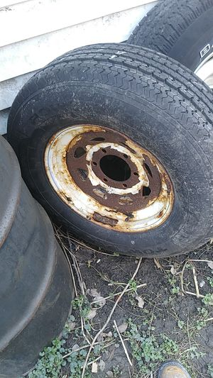 Trailer tire and rim for Sale in Homer Glen, IL