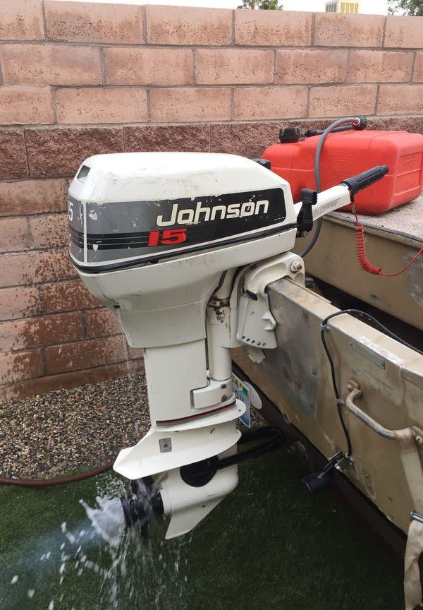Johnson 15hp outboard motor