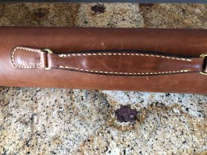 RARE vintage leather Eddie Bauer fly fishing rod case for Sale in Englewood, CO