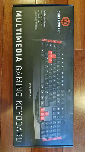Keyboard CyberpowerPC for Sale in Seattle, WA