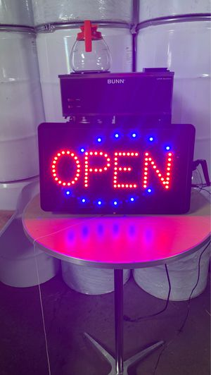 Open sign for Sale in Buffalo, NY