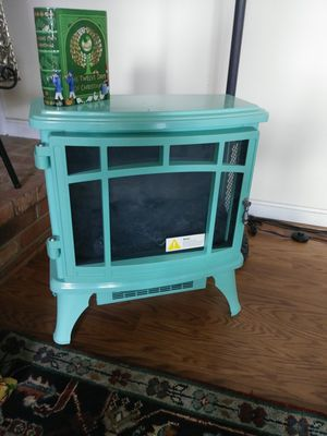 Twin star eletric fireplace new for Sale in Gaithersburg, MD