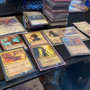 hundreds of magic the gathering rares, mythics, and plainswalkers! for Sale in Philadelphia, PA