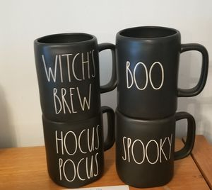 Rae Dunn Halloween Mugs for Sale in Murraysville, WV