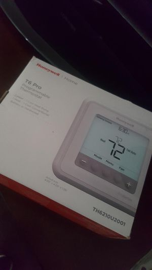 Honeywell T6 Pro Thermostat for Sale in Los Angeles, CA