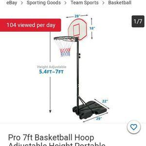 Adjustable Junior Basketball Hoop/tablero De Basketball Para Junior for Sale in San Leandro, CA