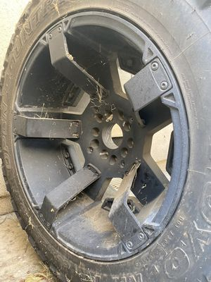 "RIMS - XD811 ROCKSTAR II 20X12 MATTE BLACK and 35"" Tire for Sale in Los Angeles, CA"