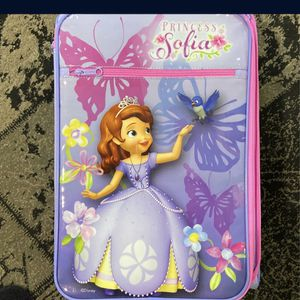 Sofia the first carry on for Sale in Germantown, MD