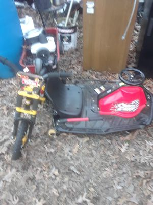 Electric go Cart/ Kids bicycle for Sale in Monroe, GA