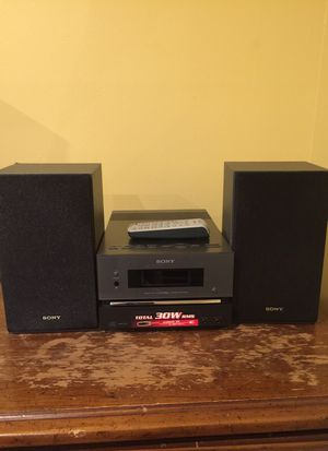 Sony CMT-BX1 System for Sale in Gaithersburg, MD