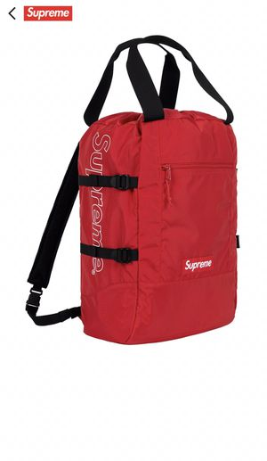 Supreme Tote Backpack (Red) for Sale in New York, NY