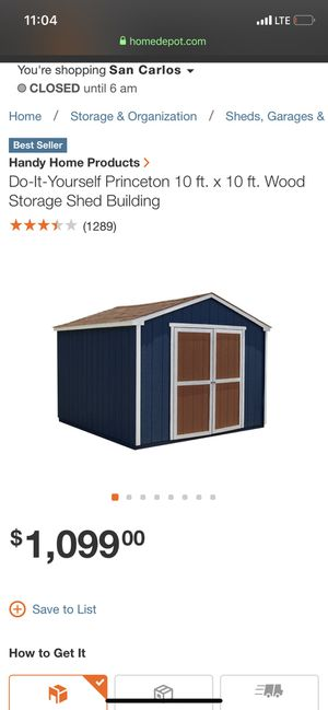 Shed 10ftx10ft for Sale in Oakland, CA