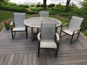 Patio chairs & table for Sale in Herndon, VA