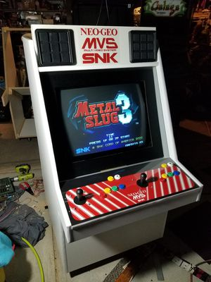 Custom made arcade candy cabinet style 1200 games for Sale in Palmdale, CA