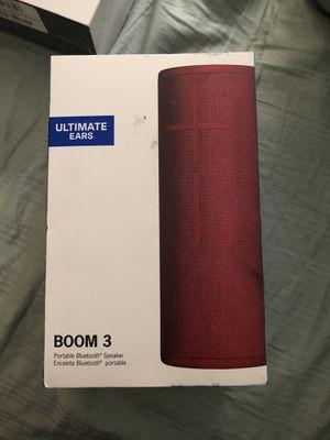 Boom 3 speaker for Sale in Salt Lake City, UT