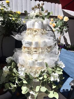 Garden Diaper Cake for Sale in Long Beach,  CA