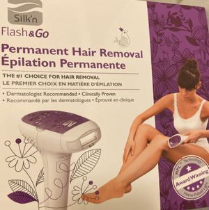Silk'n Flash & Go Láser Hair Removal Device for Sale in Rolling Hills Estates, CA