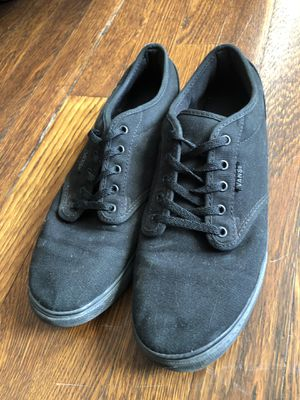 Gently worn black Vans for Sale in St. Louis, MO