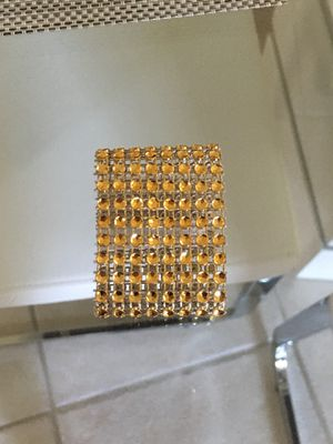 New 12 pcs gold rings for napkins for Sale in Kissimmee, FL