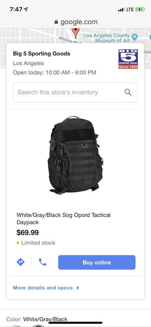 Brand New $70 value SOG OPORO DAY PACK for Sale in Culver City, CA