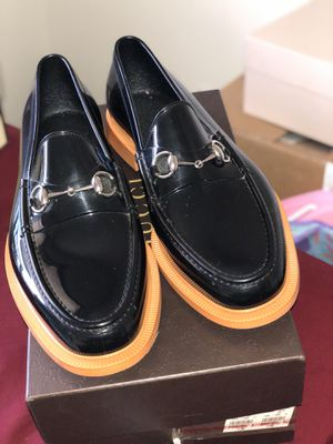Authentic Gucci rubber loafers size 12 for Sale in Detroit, MI