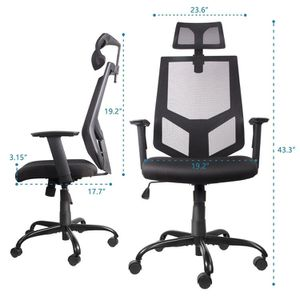 Brand New! Ergonomic Office Computer Mesh Chair with Neck Support for Sale in Santa Monica, CA
