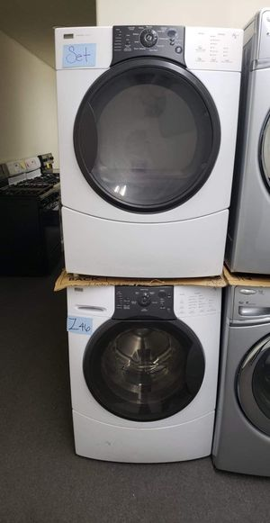 Set Washer and GAS dryer, Z46 for Sale in Los Angeles, CA