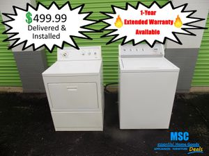 Washer Dryer Set for Sale in Lawrence, IN