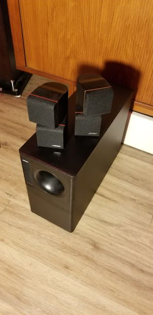 BOSE Acoustimass 5 - Redline Edition for Sale in Portland, OR