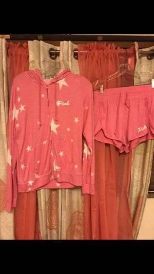 VS Pink shorts and hoodie outfit for Sale in North Royalton, OH