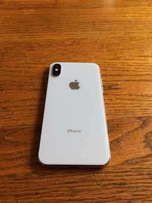 Att/cricket iPhone X 64gb $390 firm not negotiable, No trade for Sale in Sacramento, CA