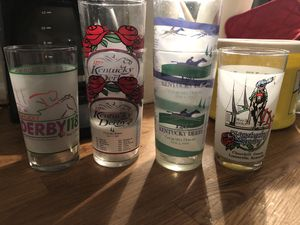 Kentucky Derby Collectable Glasses for Sale in Wayne, MI