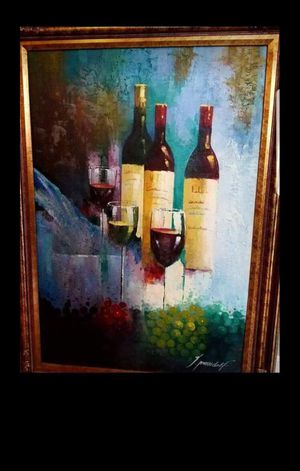 Wine painting for Sale in Stockton, CA