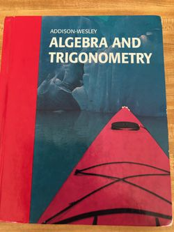 Math Book - Algebra and Trigonometry for Sale in Colleyville,  TX