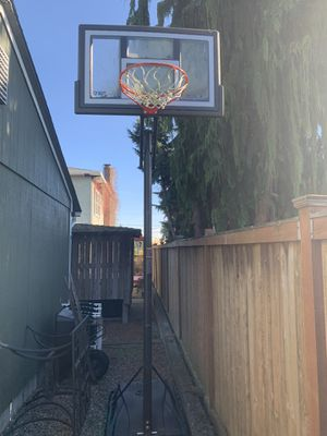 10 foot adjustable basketball hoop for Sale in Seattle, WA
