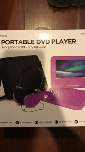 7-in Portable DVD Player for Sale in Lockport, NY