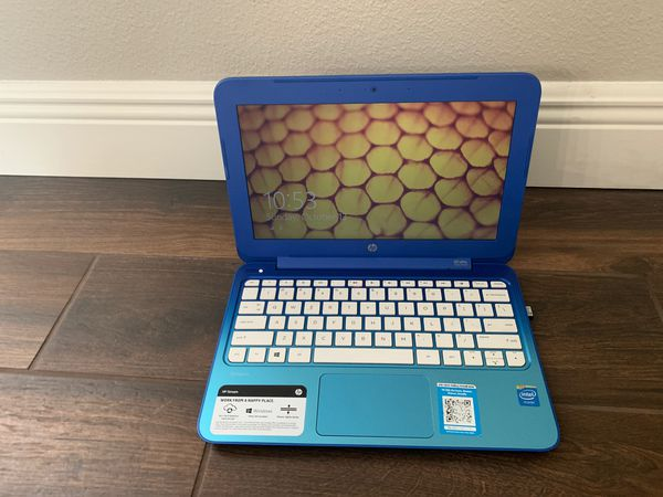 Hp laptop with wireless mouse used