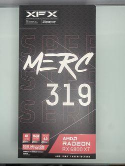 XFX SPEEDSTER MERC319 AMD RADEON RX 6800 XT for Sale in Weehawken, New Jersey