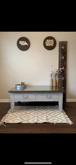 Aged Grey Coffee Table! for Sale in Murfreesboro, TN