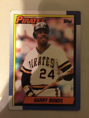 Barry Bonds Baseball card (Topps 1989) for Sale in Bakersfield, CA