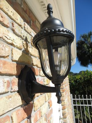 Large outdoor wall mount coach light GL189-1S for Sale in Jacksonville, FL