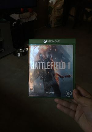 Battlefield 1 Xbox one for Sale in Los Angeles, CA