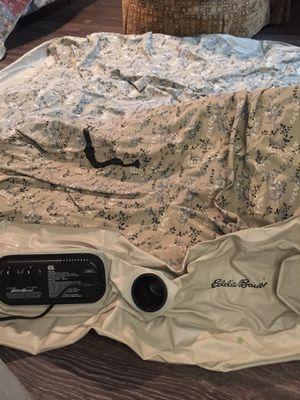 Queen air bed mattress- Eddie Bauer/ double tall for Sale in Austin, TX