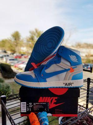 "Size 12 Off-White Jordan 1 ""University Blue""!!!! for Sale in Annandale, VA"
