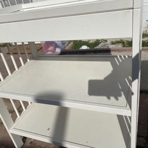 White Changing Table for Sale in Long Beach, CA
